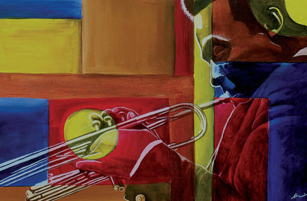 African American Painting - Let Me Play by Stacy V McClain