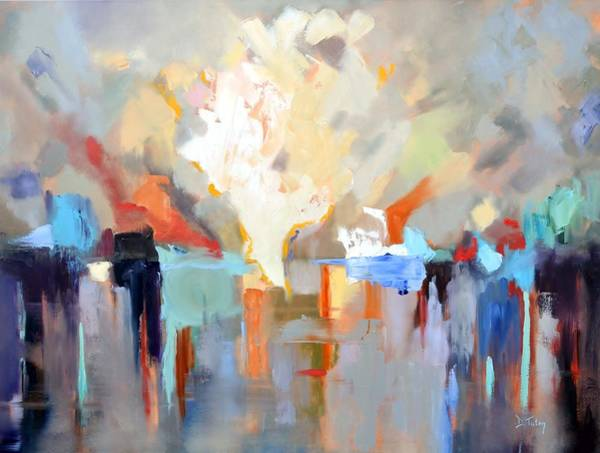 Painting - Let There Be Light by Donna Tuten