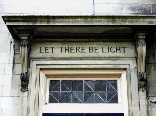 Photograph - Let There Be Light by Larry Oskin