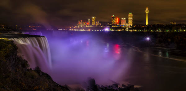Niagara Falls State Park Photograph - Let There Be Light by Mark Papke