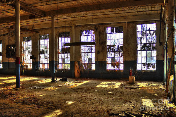 Photograph - Let There Be Light Mary Leila Cotton Mill 1899 by Reid Callaway