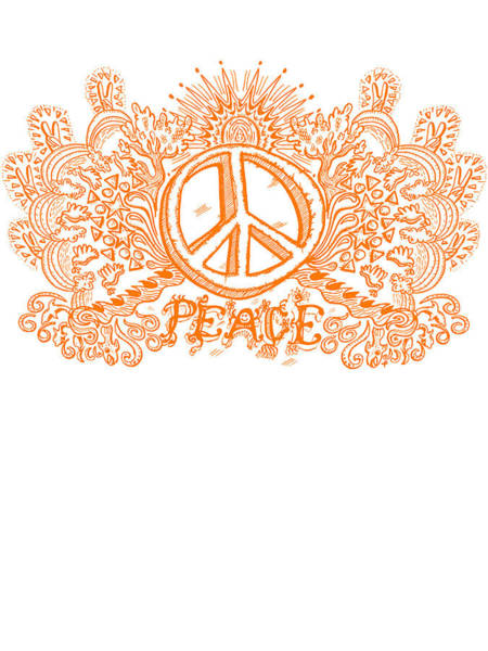 Print On Demand Digital Art - Let There Be Peace by Paul Telling