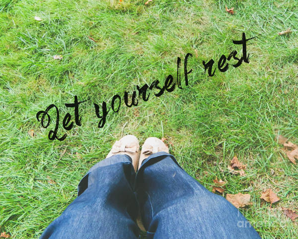 Photograph - Let Yourself Rest by Andrea Anderegg