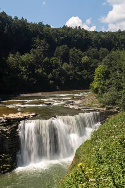 Photograph - Letchworth Lower Falls by Michael Chatt