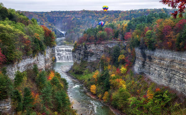 Wall Art - Photograph - Letchworth Middle Falls by Mark Papke