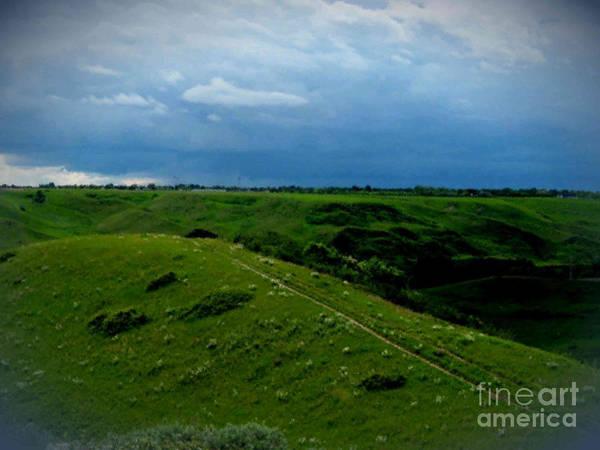 Lethbridge Photograph - Lethbridge Storm by Anne Havard