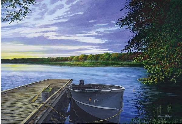 Let's Go Fishing Art Print