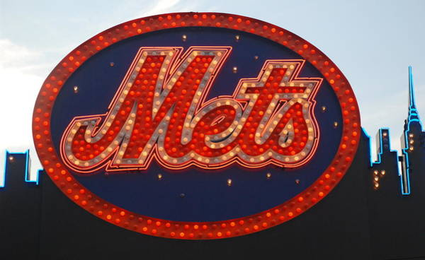 Met Photograph - Lets Go Mets by Richard Bryce and Family
