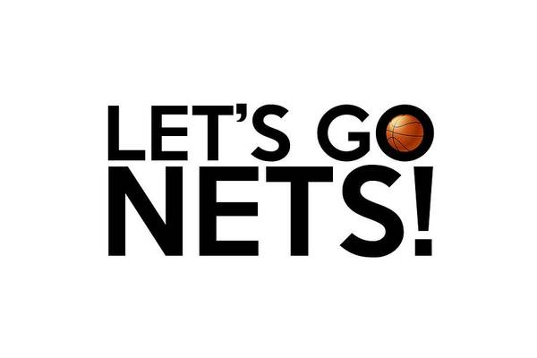 Painting - Let's Go Nets by Florian Rodarte