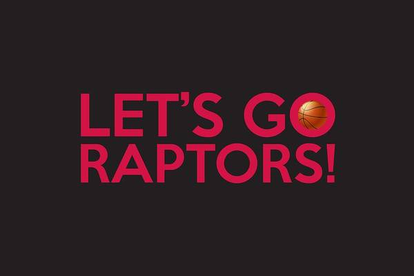 Painting - Let's Go Raptors by Florian Rodarte