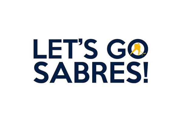 Painting - Let's Go Sabres by Florian Rodarte