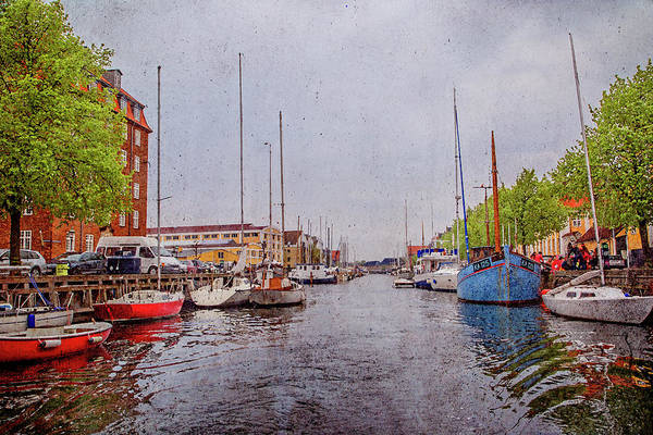 Copenhagen Photograph - Let's Go Sailing Out On The Sea You And Me by Betsy Knapp