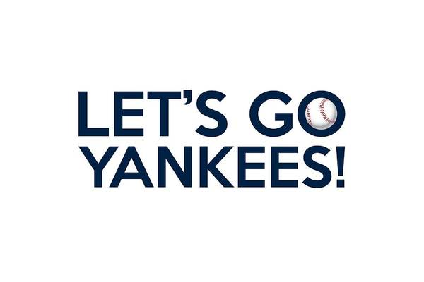 Painting - Let's Go Yankees by Florian Rodarte