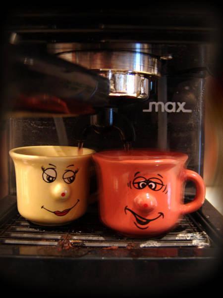 Photograph - Let's Have A Coffee by Alessandro Della Pietra