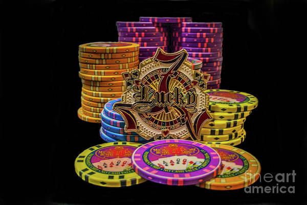 Lets Play Poker Art Print