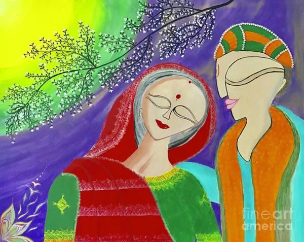 Wall Art - Painting - Let's Start New Innings by Anuradha Kumari
