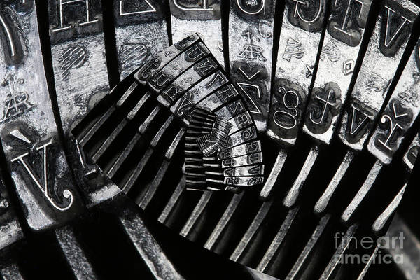 Wall Art - Photograph - Letters by Michal Boubin