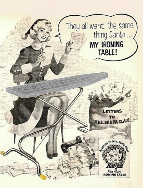 Santa Mixed Media - Letters To Mrs. Santa Claus by Long Shot