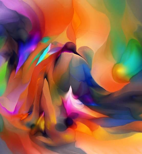 Wall Art - Digital Art - Letting Go by David Lane