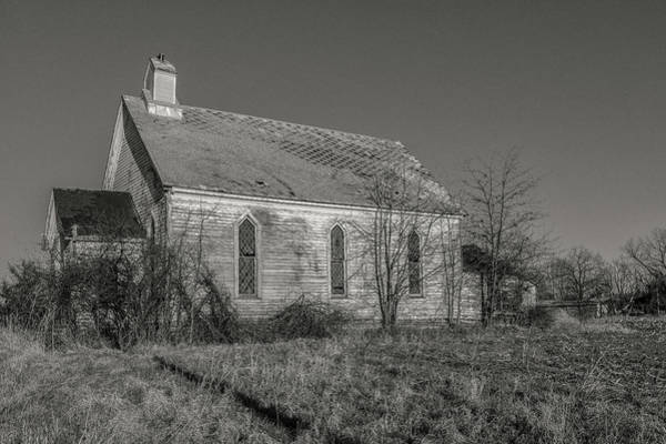 Photograph - Levanna Road Church by Rod Best
