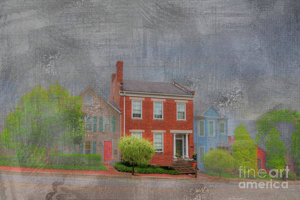 Historic House Digital Art - Levi Davis House by Larry Braun