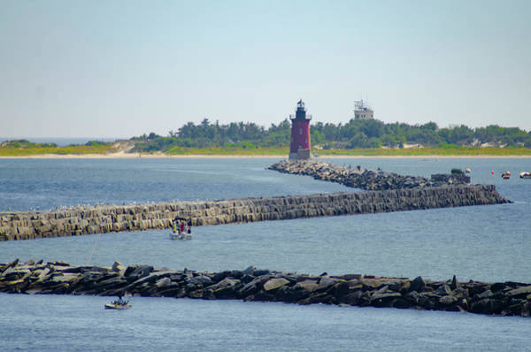 Lewes Photograph - Lewes Delaware - Harbor Of Refuge Lighthouse  by Bill Cannon