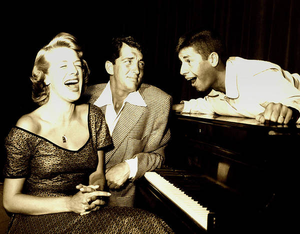 Colgate Wall Art - Photograph - Lewis And Martin And  Rosemary Clooney 1950s by Mountain Dreams