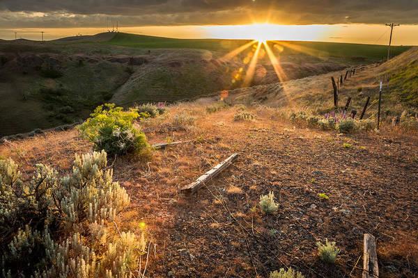 Lewiston Photograph - Lewiston Hill Sunset by Brad Stinson