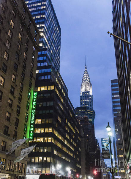 Photograph - Lexington Avenue, Chrysler Building, New York  by Juergen Held