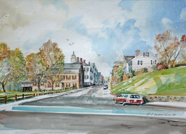 Painting - Leyden Street Early Nineties by P Anthony Visco