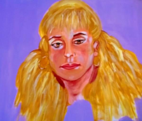 Painting - Leyla by Rusty Gladdish