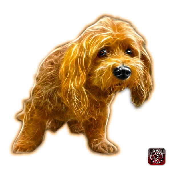 Painting - Lhasa Apso Pop Art - 5331 - Wb by James Ahn