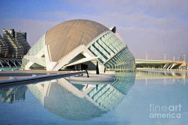 Wall Art - Photograph - L'hemisferic 2 - City Of Arts And Sciences by Mary Machare