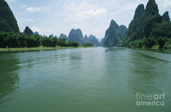 Expanse Photograph - Li River by Larry Dale Gordon - Printscapes