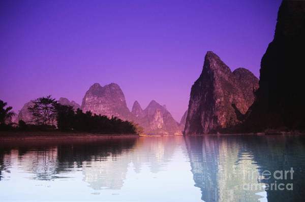 Expanse Photograph - Li River Near Yangshuo by Gloria & Richard Maschmeyer - Printscapes