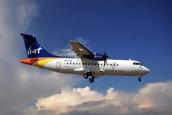 Port Photograph - Liat Atr 42-600 by Smart Aviation