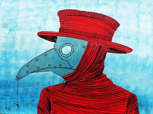 Birdman Painting - Lib - H5 by Mr CAUTION