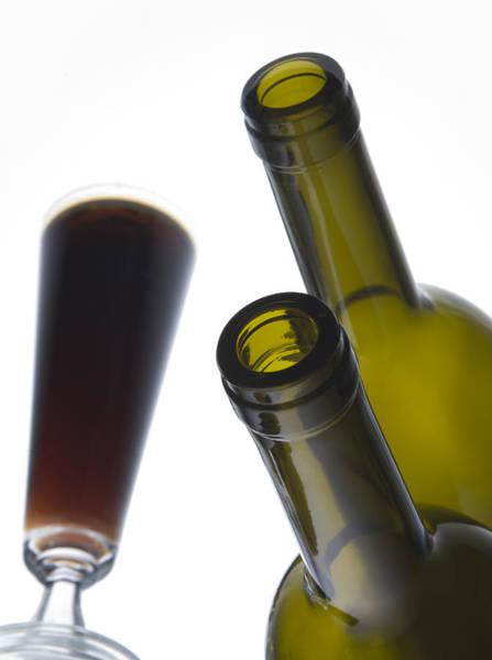 Bottle Photograph - Libation 3 by Patrick Ziegler