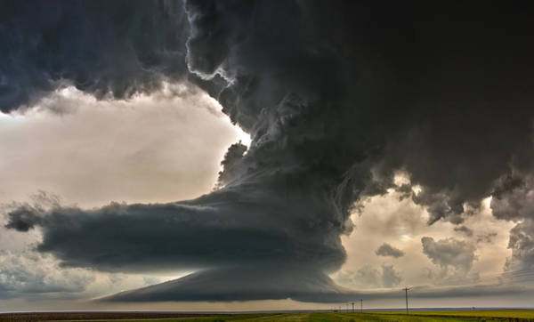 Photograph - Liberty Bell Supercell by James Menzies