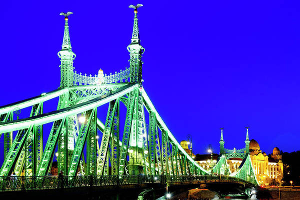 Photograph - Liberty Bridge by Fabrizio Troiani