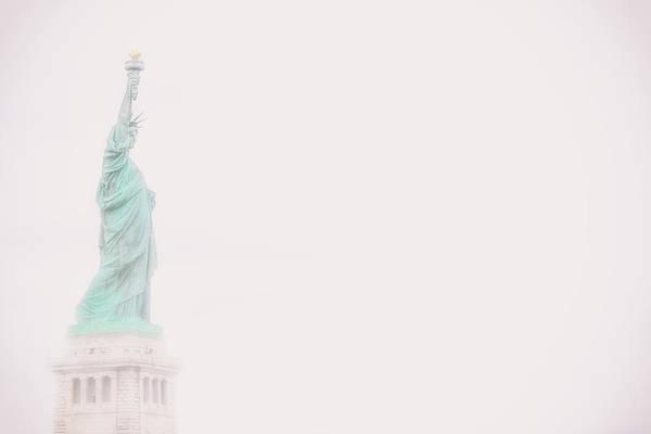 Lady Liberty Photograph - Liberty Fog by Martin Newman
