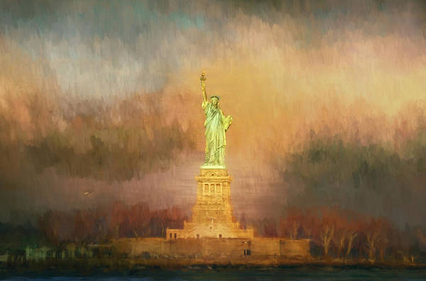 Photograph - Liberty In Caramel by Alice Gipson