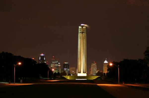 Photograph - Liberty Memorial Kansas City by David Dunham