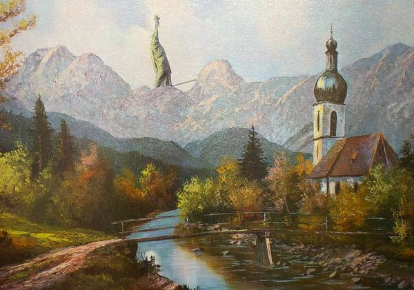 Painting - Liberty by Anton Bernard