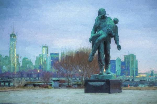 Photograph - Liberty Park Holocaust Memorial by JC Findley