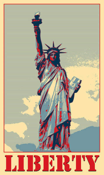 Photograph - Liberty by Richard Reeve