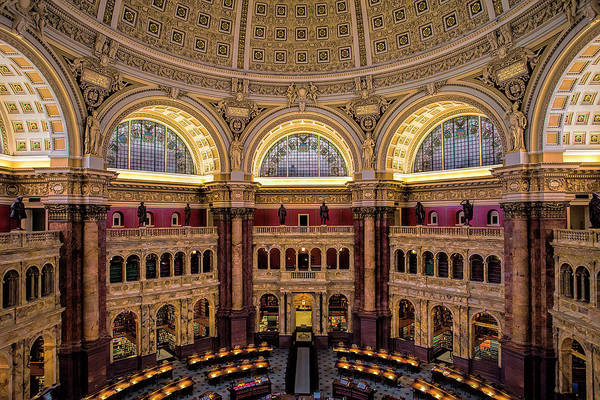 Library Photograph - Library Of Congress by Andrew Soundarajan