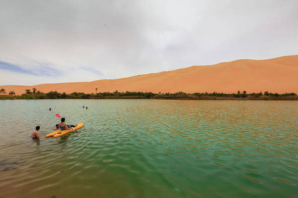 Photograph - Libyan Oasis by Ibrahim Azaga