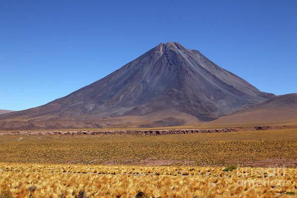 Photograph - Licancabur Volcano San Pedro De Atacama Chile by James Brunker