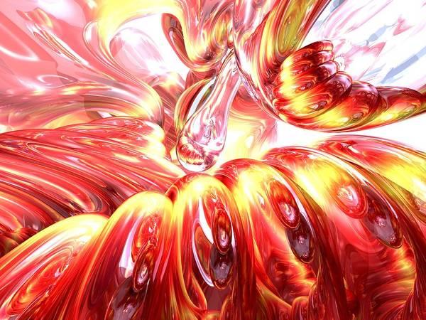 Elation Digital Art - Licorice Euphoria Abstract by Alexander Butler